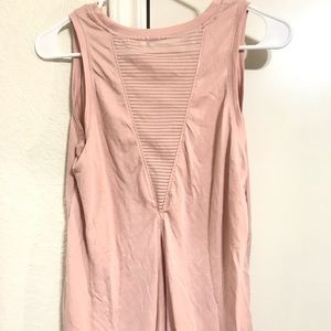 Dusty Pink Athletic Tank